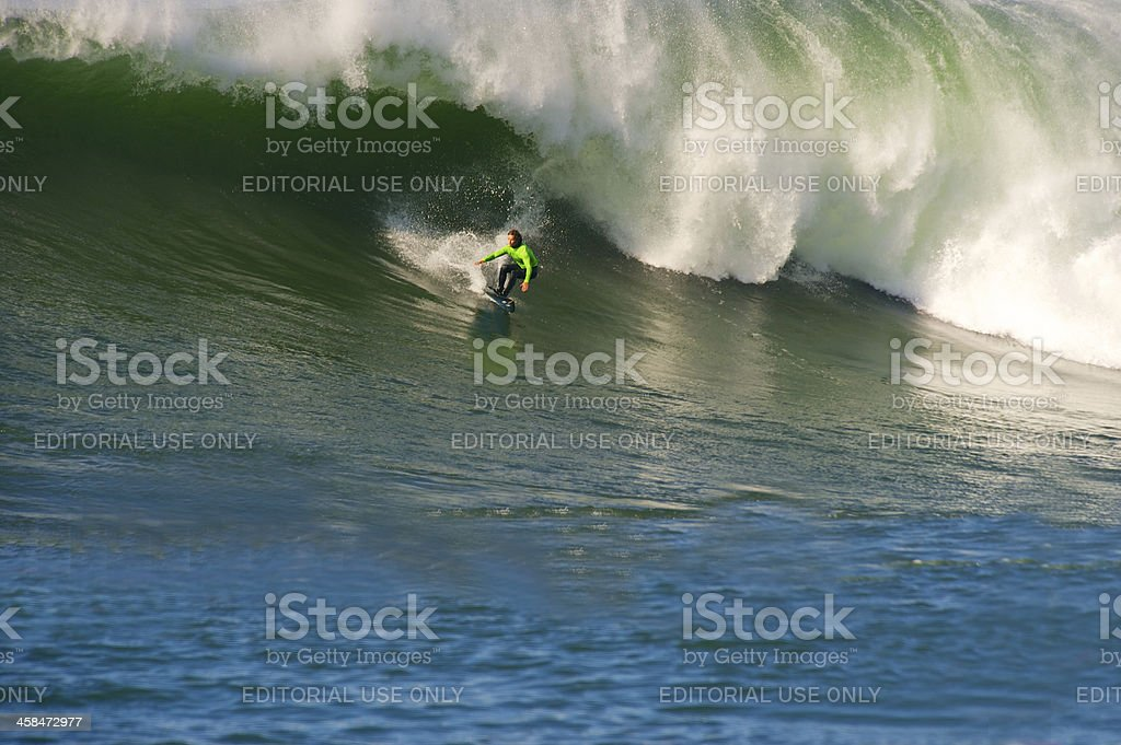 Maverick Surfing Competition royalty-free stock photo