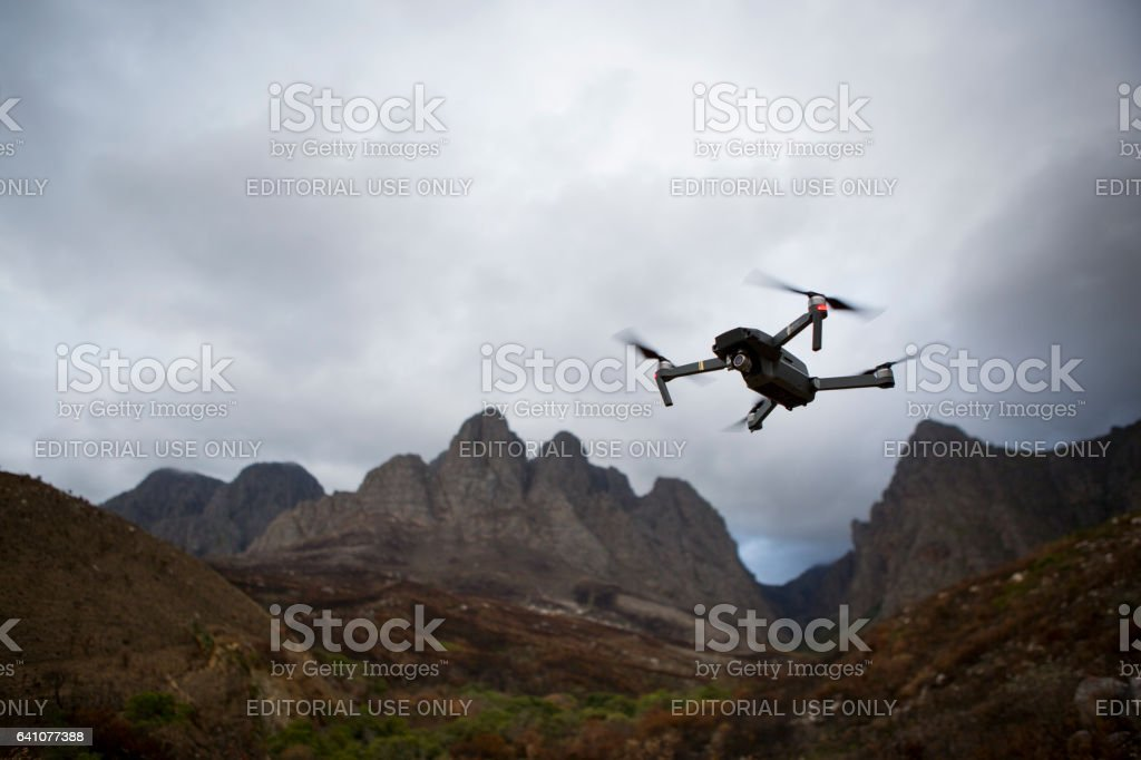 DJI Mavic Pro compact drone stock photo