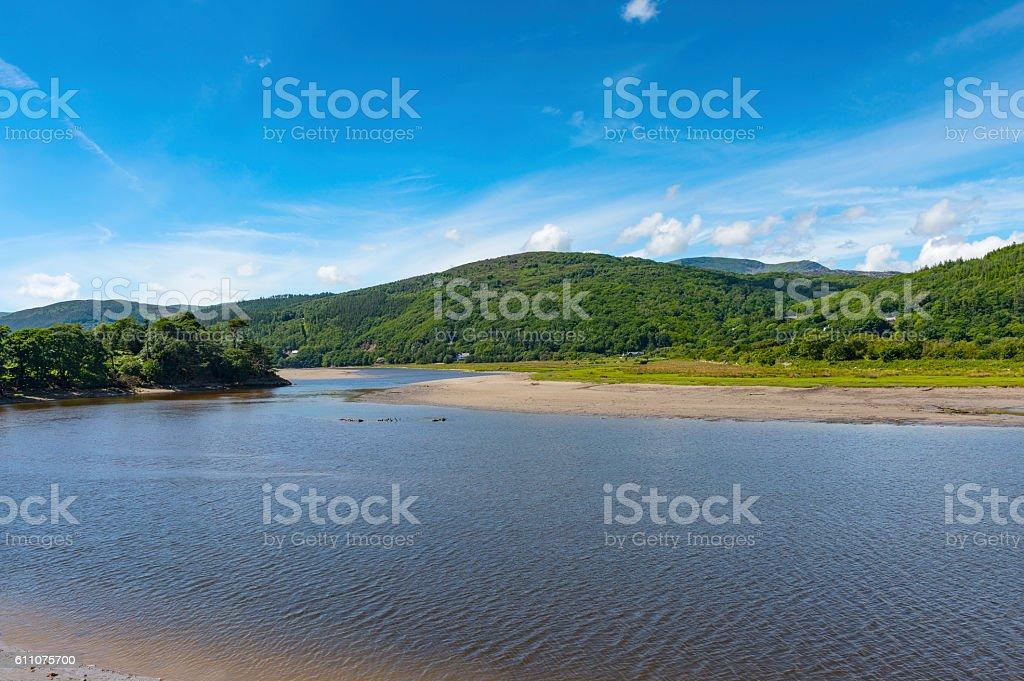 Mawddach Estuary stock photo