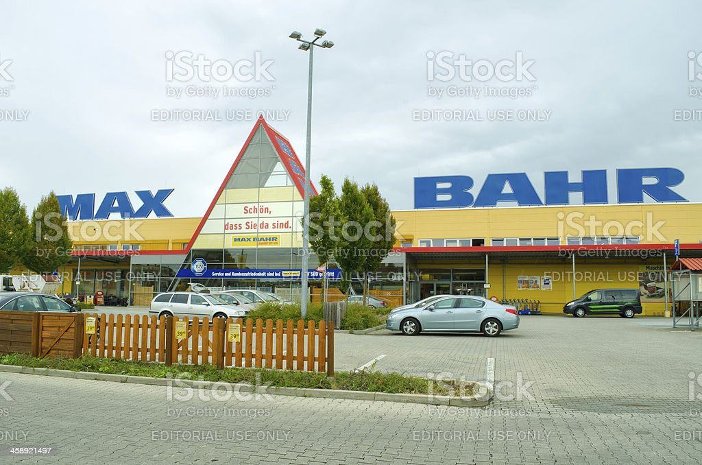 Max Bahr -  building supplies store in Germany stock photo