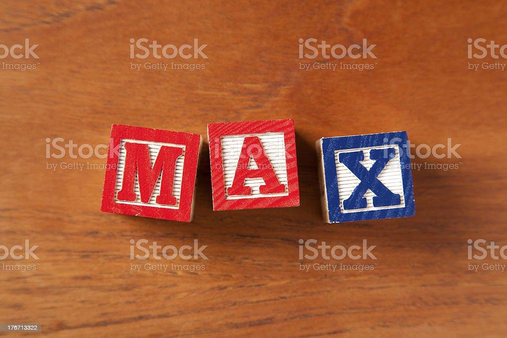 Max stock photo