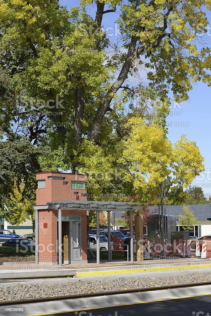 max station, Fort Collins stock photo