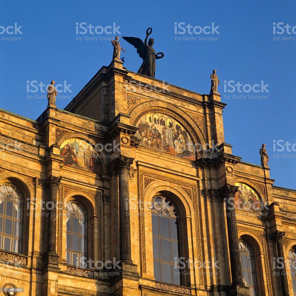 Maximilianeum. Bavarian State Parliament (XXXL) stock photo