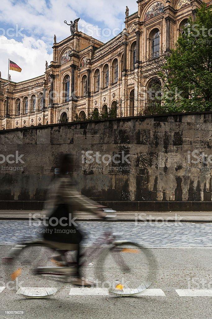 Maximilianeum - Munich, Germany stock photo