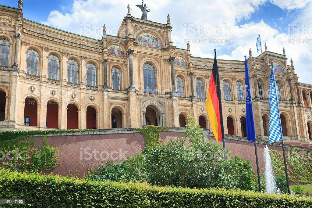 Maximilianeum, Munich. stock photo