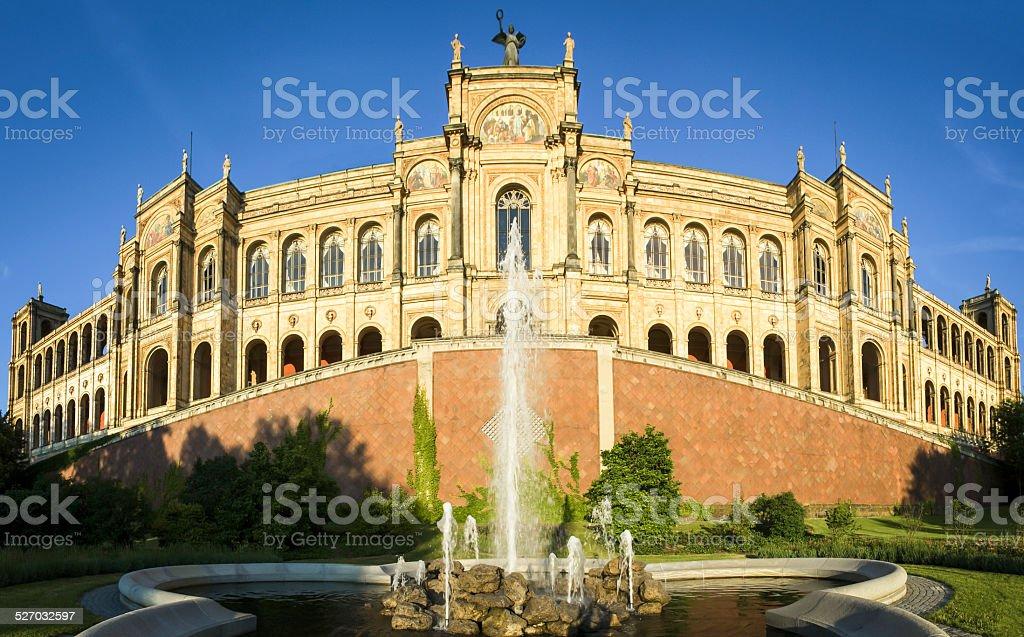 Maximilianeum - munich stock photo