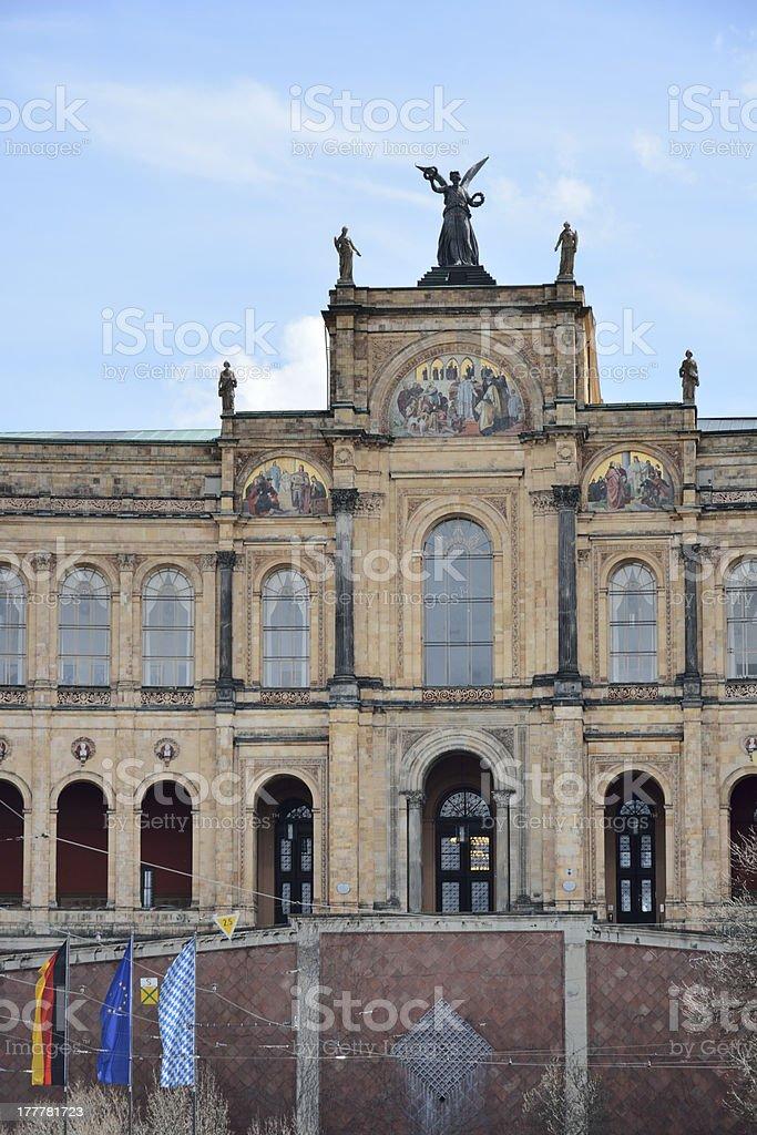Maximilianeum stock photo