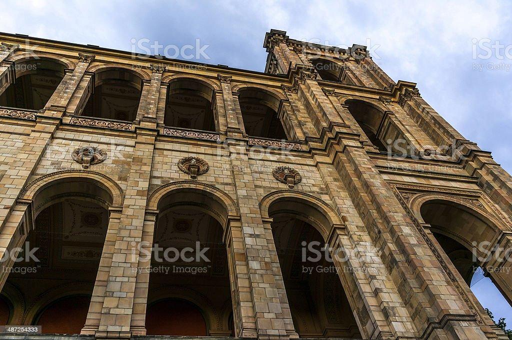 Maximilianeum Roman Columns stock photo