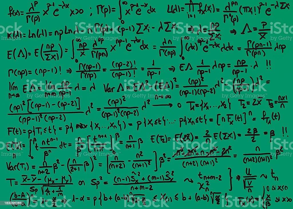 MLE maximum likehood estimation stock photo