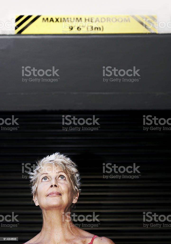 Maximun Headroom stock photo