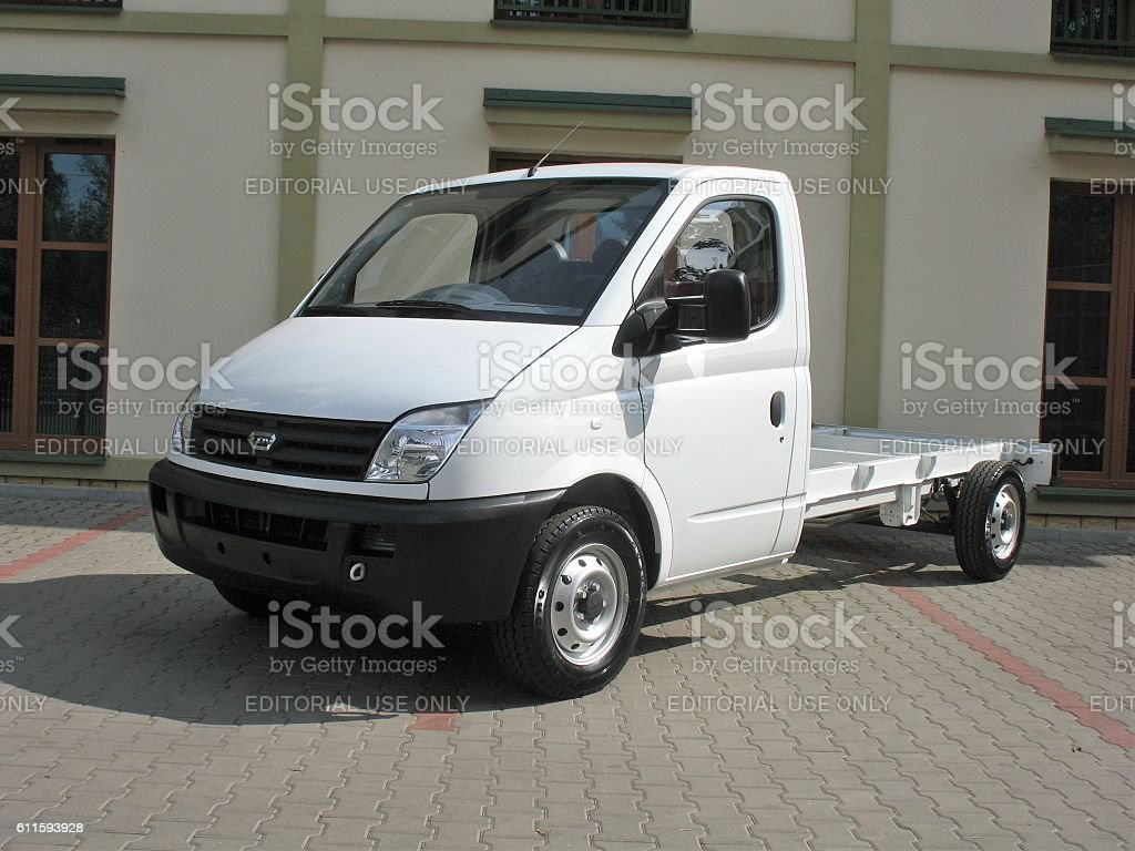 LDV Maxus commercial vehicle stock photo