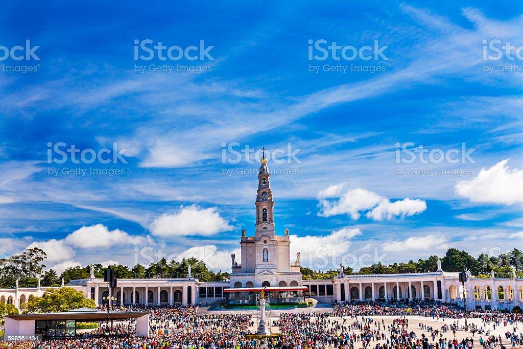 May 13th Celebration Mary Fatima Portugal stock photo