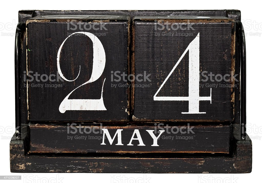 May 24th stock photo