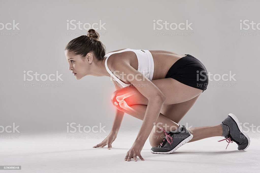 I may be injured bit it won't stop me stock photo