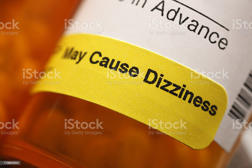 May Cause Dizziness royalty-free stock photo
