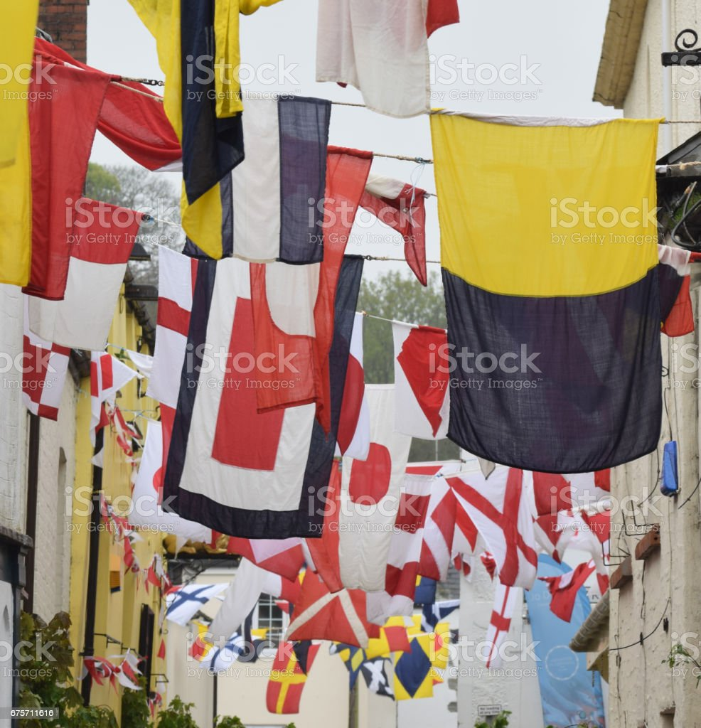 May Day Padstow Cornwall stock photo