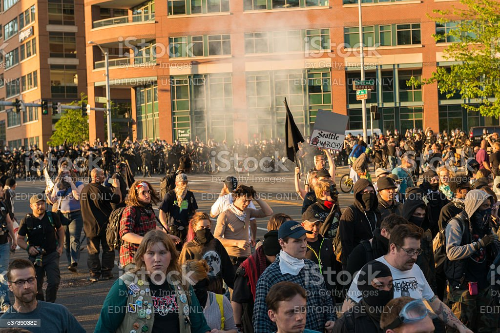 May Day stock photo