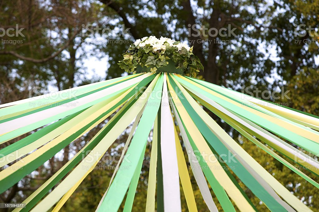 May Day Pole royalty-free stock photo