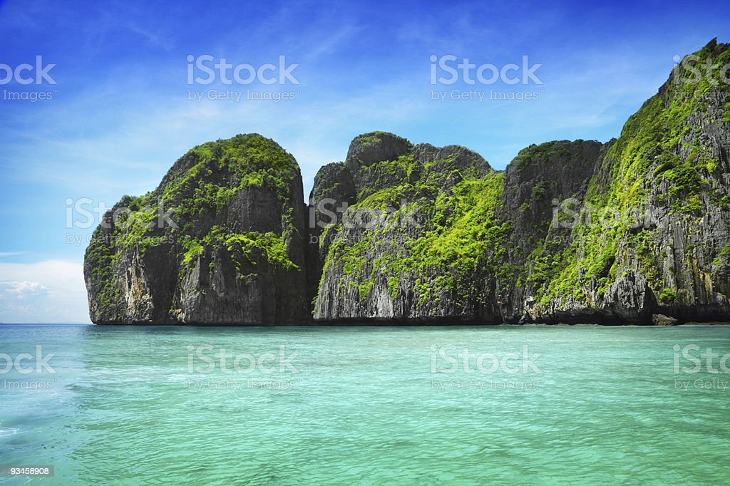 Maya Bay stock photo