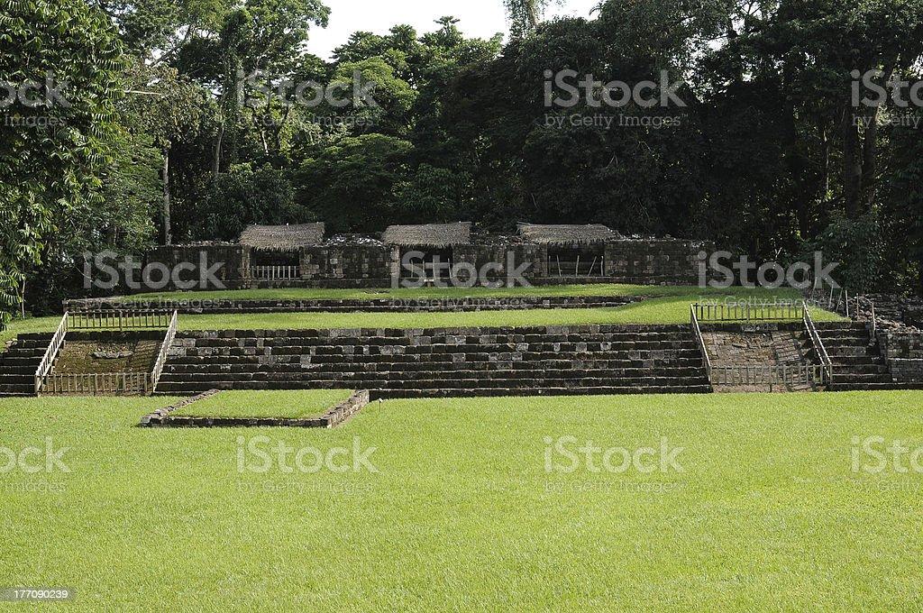 maya city stock photo