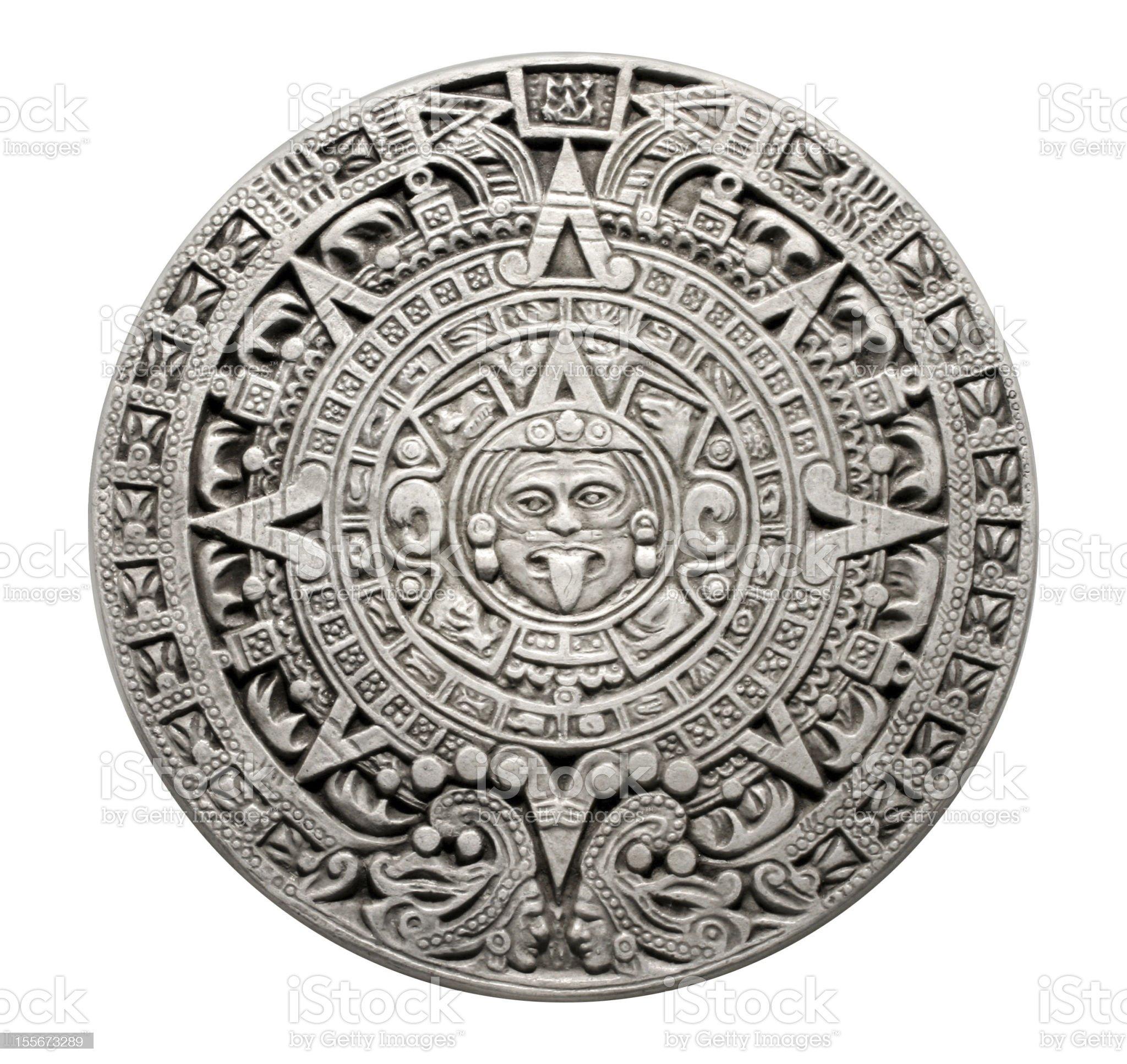 Mayan calendar. royalty-free stock photo