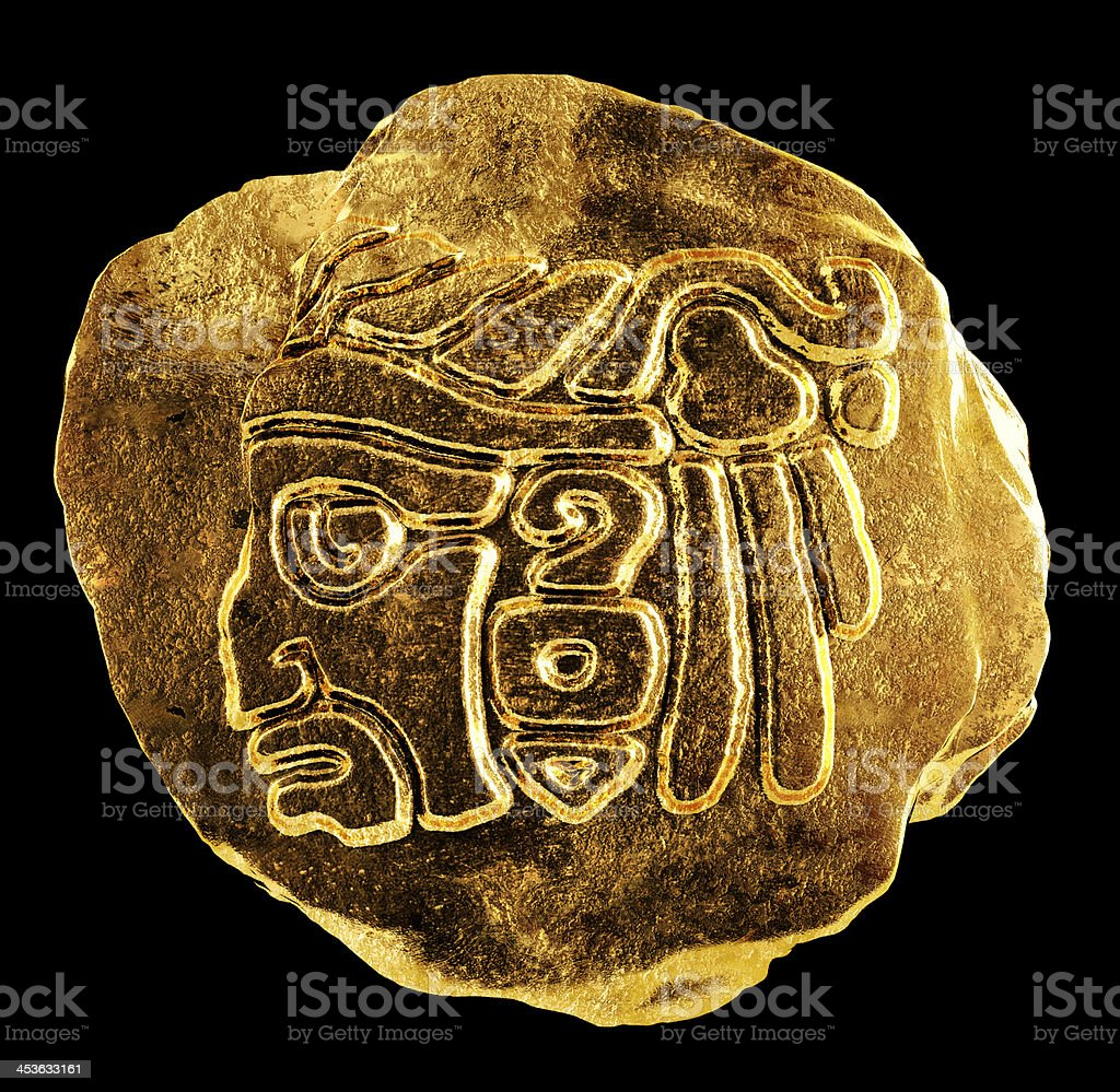 Mayan culture royalty-free stock photo
