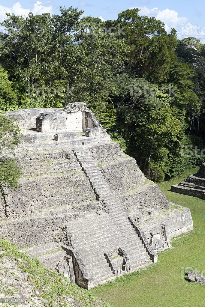 Mayan Pyramid royalty-free stock photo