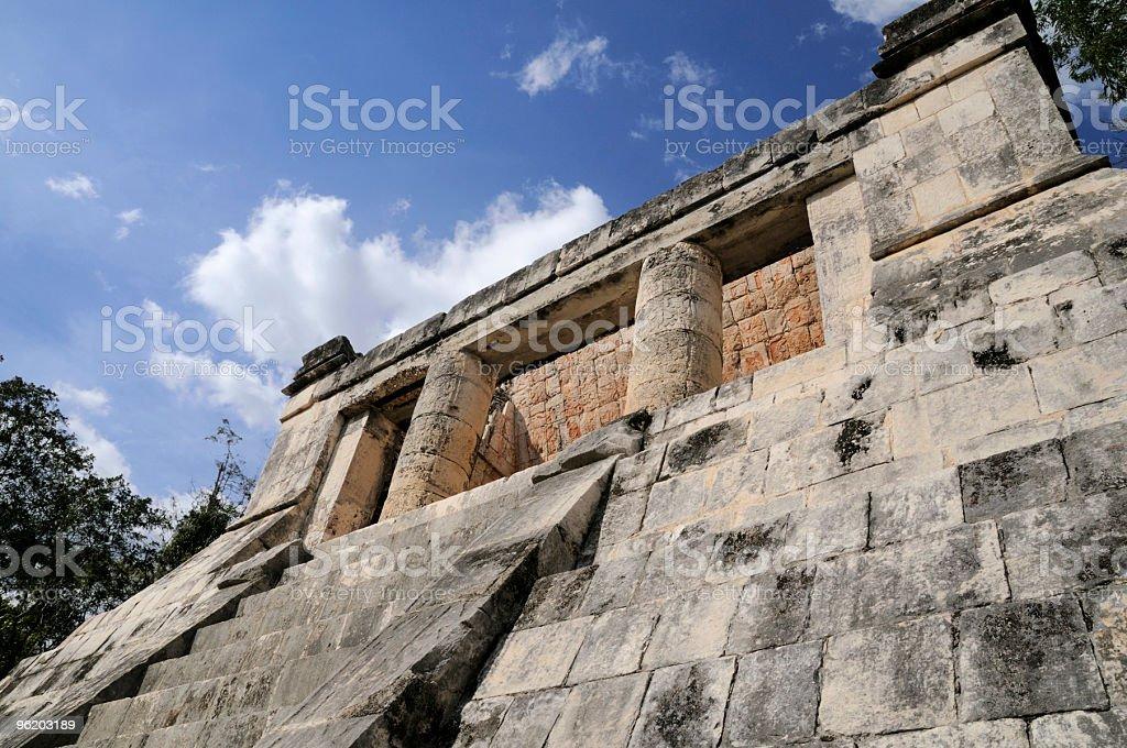Mayan Ruin royalty-free stock photo