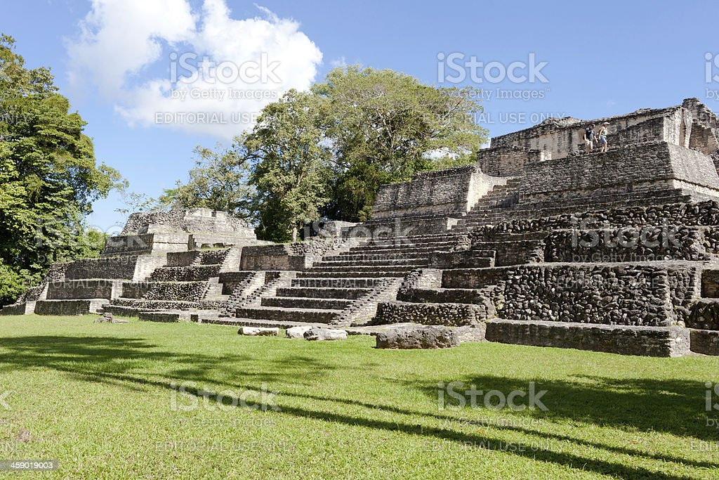 Mayan Ruins royalty-free stock photo