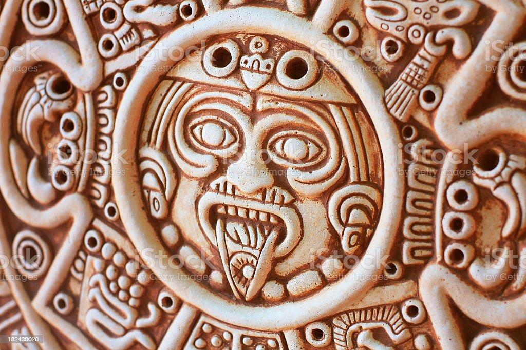 Mayan Souvenir stock photo