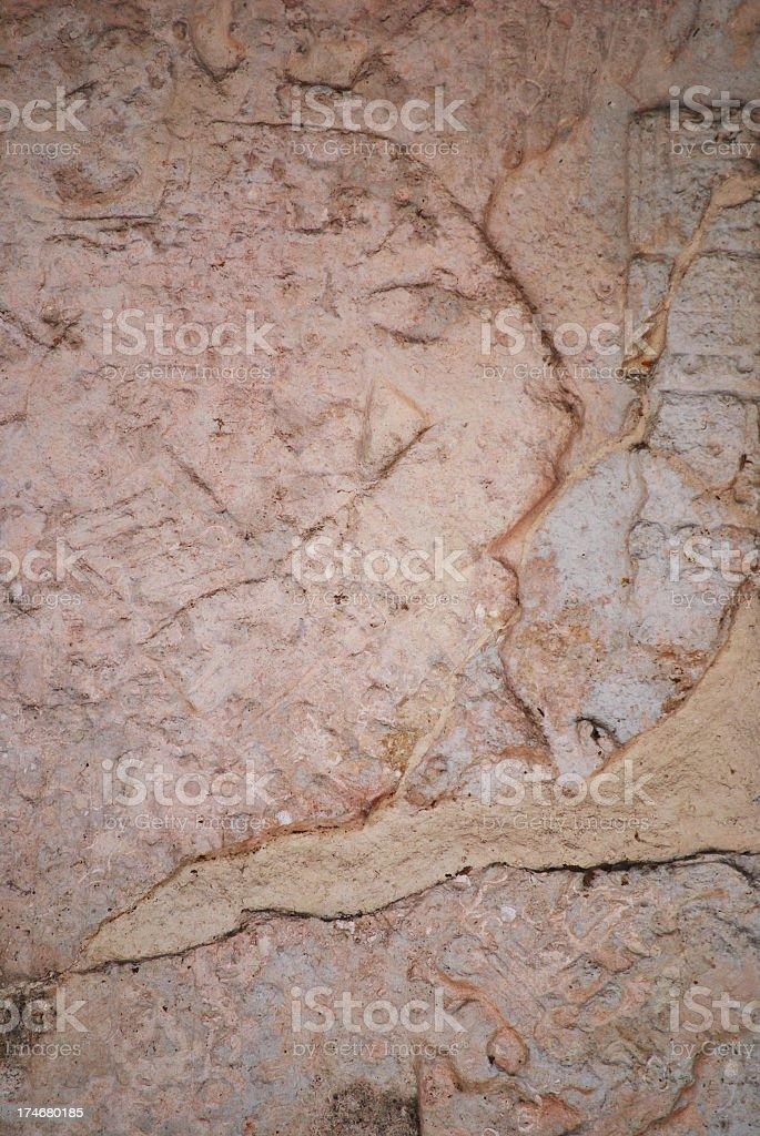 Mayan stela stock photo