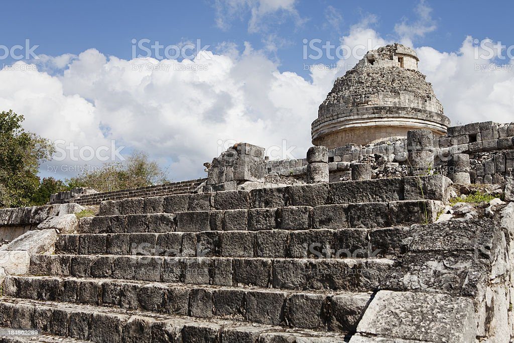 Mayan Temple royalty-free stock photo
