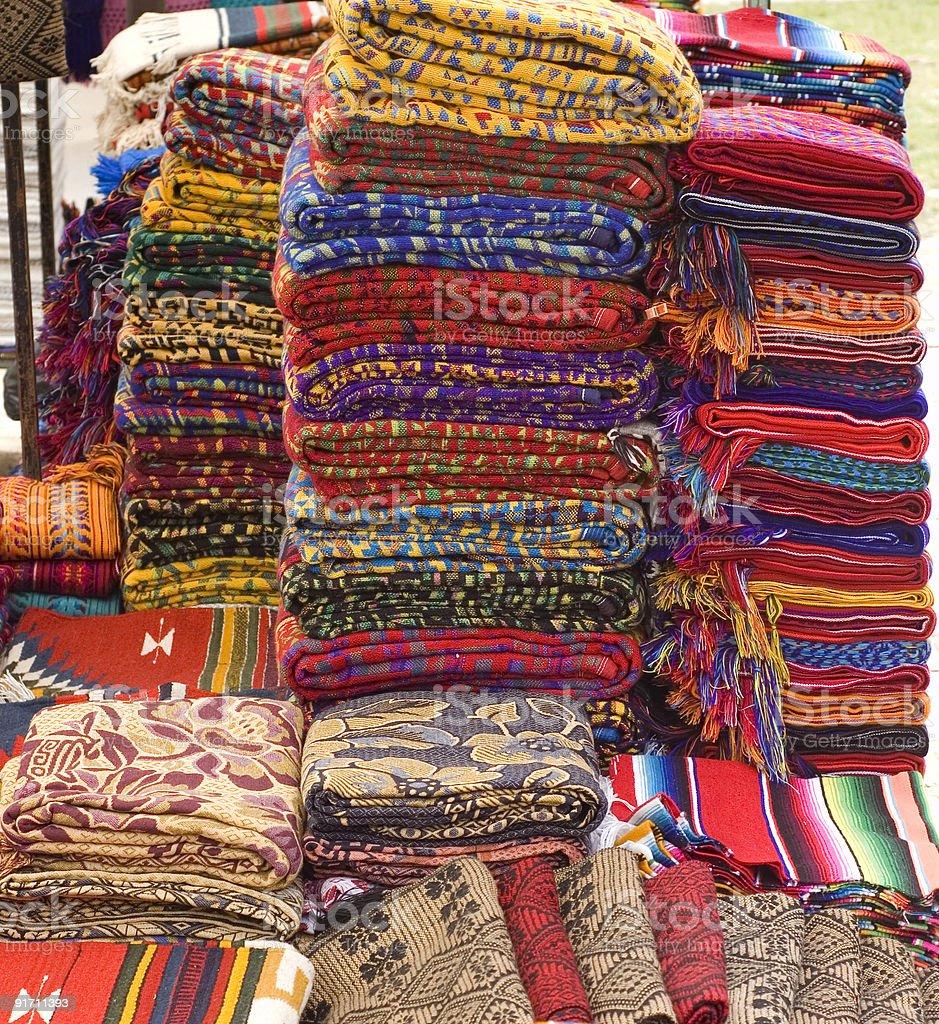Mayan Textiles royalty-free stock photo