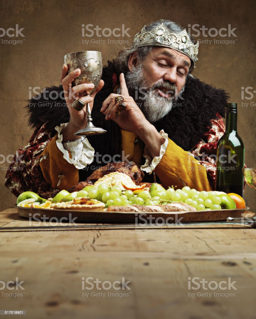 I may...be a wee bit drunks stock photo