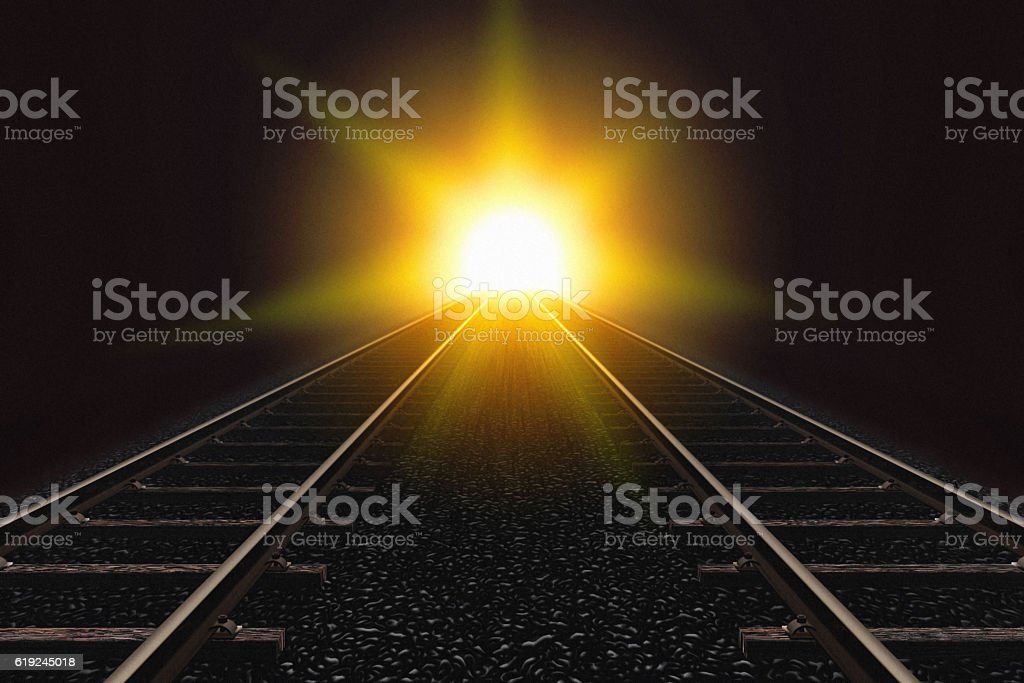 Maybe it is not sunlight! stock photo