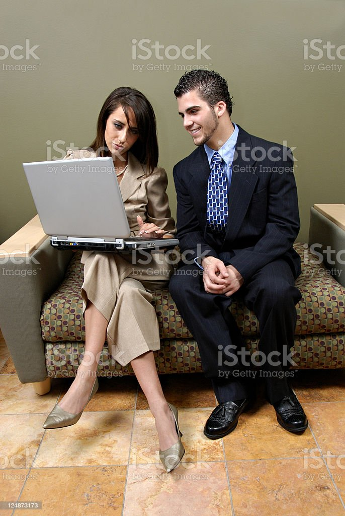 Maybe This Will Work -  Business Team royalty-free stock photo