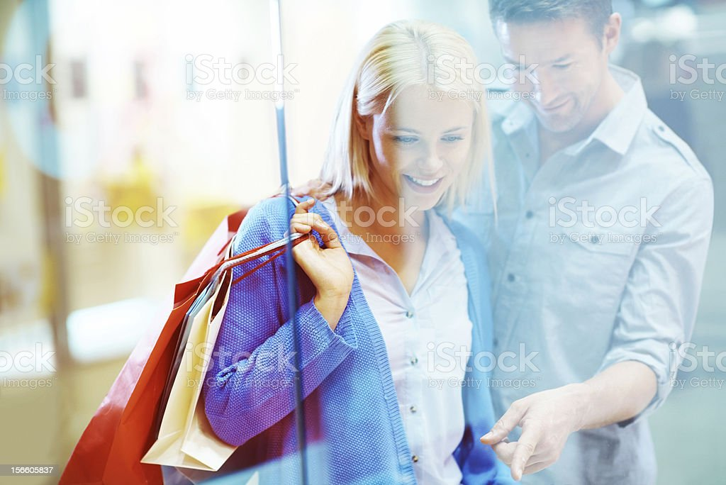 Maybe we'll buy it next time stock photo