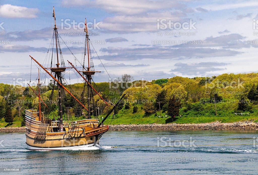Mayflower II stock photo