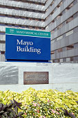 Mayo Clinic Building Signs