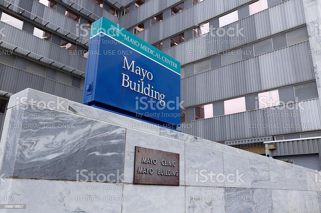 Mayo Clinic stock photo