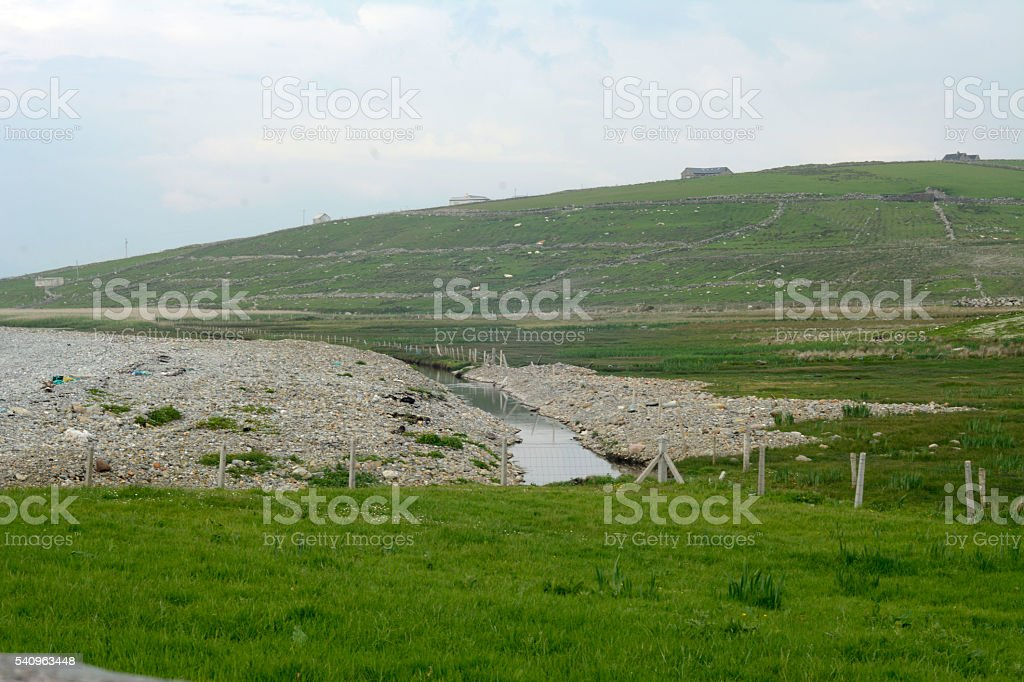 Mayo Fields, Ireland stock photo