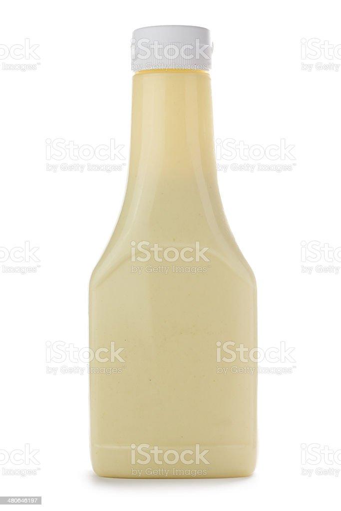 Mayonnaise Bottle stock photo