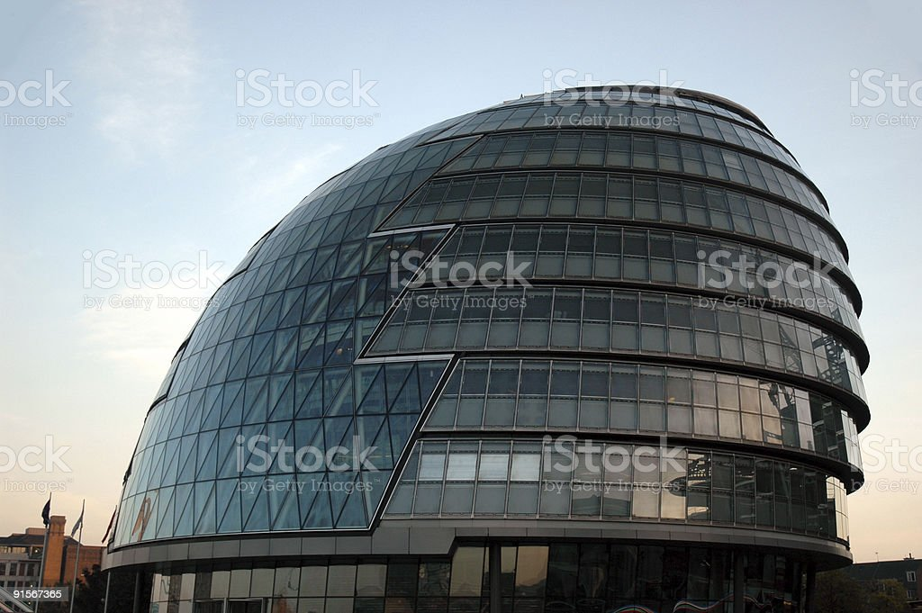 Mayor of London's offices royalty-free stock photo