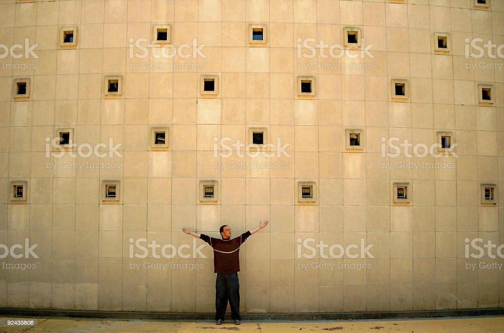 mayor wall royalty-free stock photo