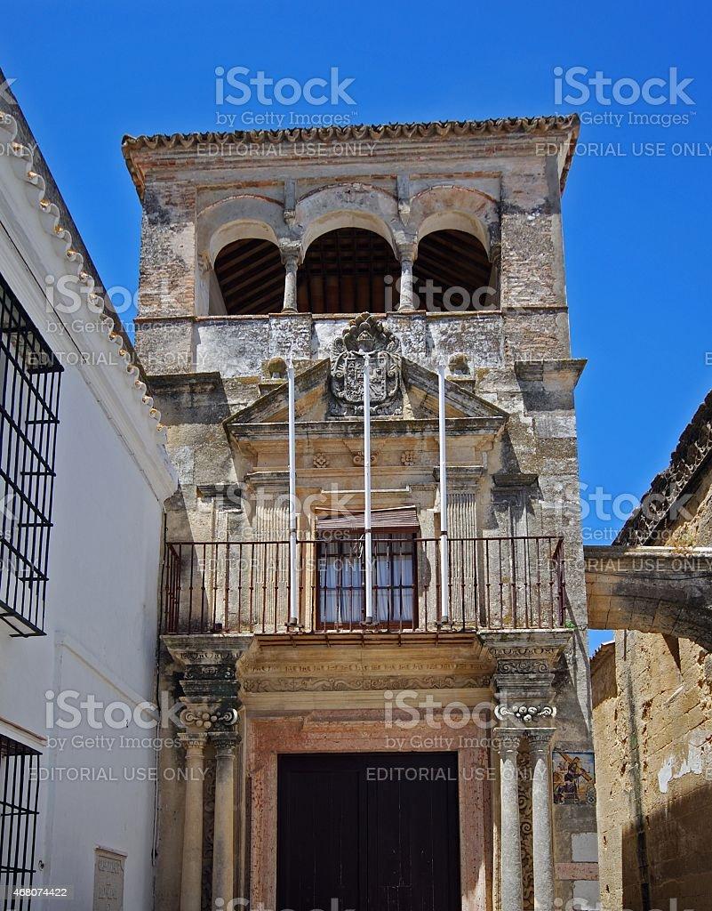 Mayorazgo Palace, Arcos de la Frontera. stock photo