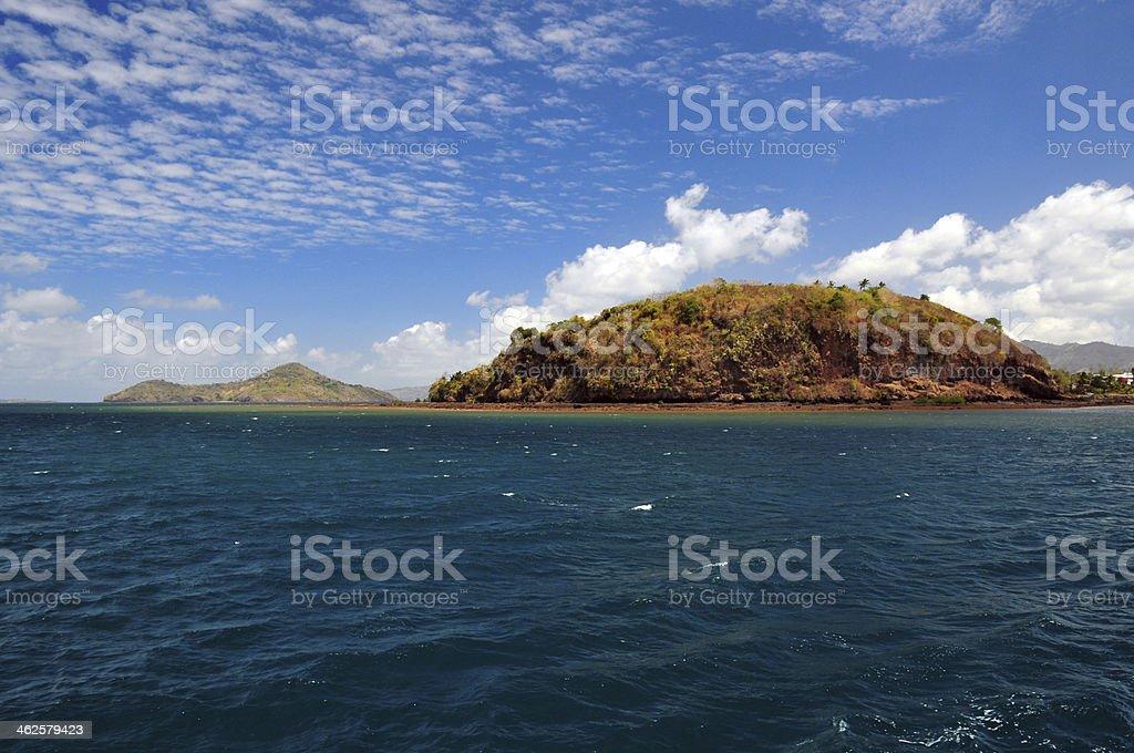 Mayotte island: Pointe Mahabou stock photo