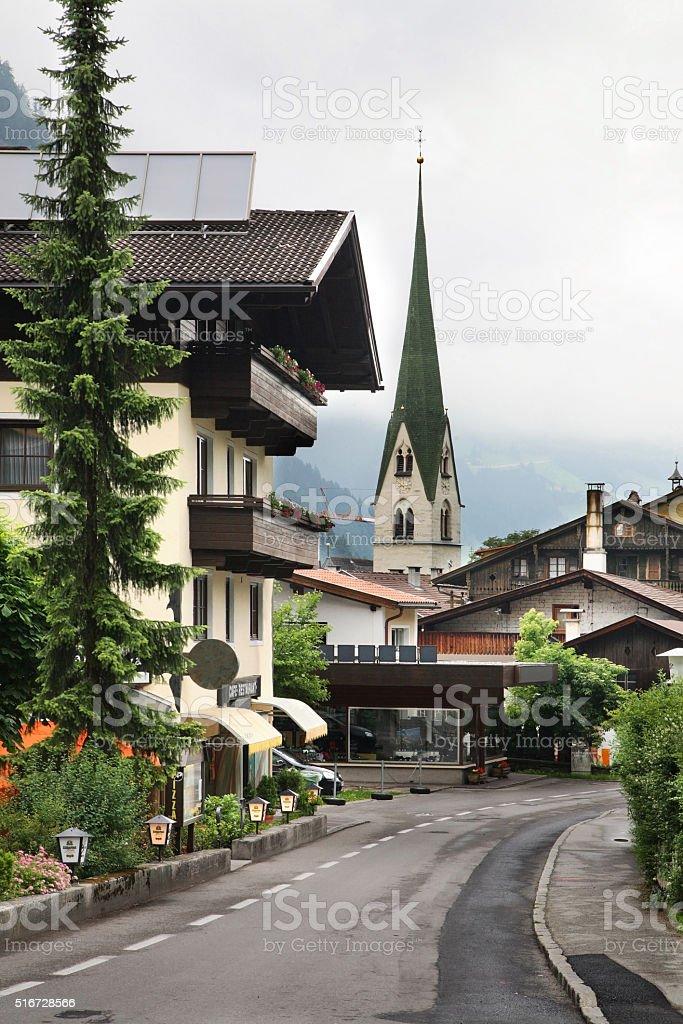 Mayrhofen. Valley Zillertal. Tirol. Austria stock photo