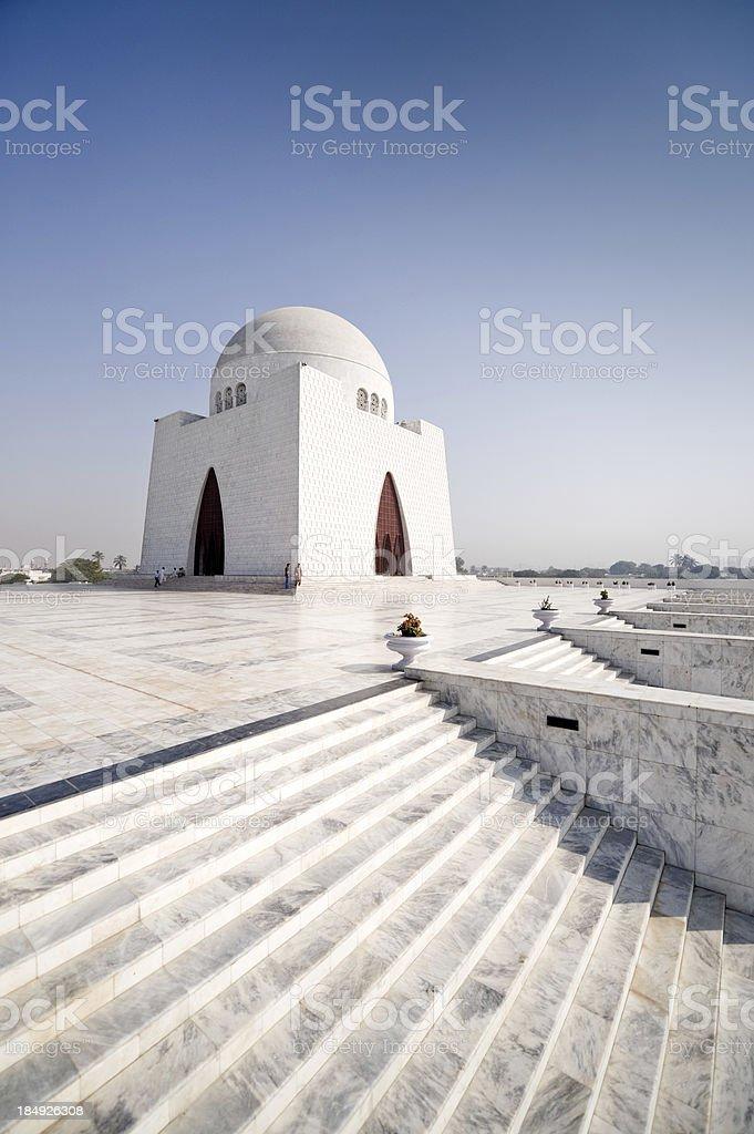 Mazar-e-Quaid stock photo