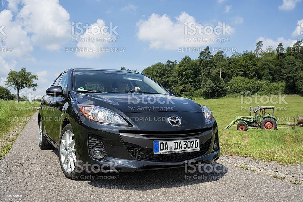 Mazda 3 stock photo