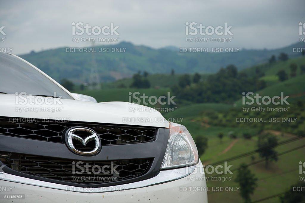 Mazda BT-50 stock photo